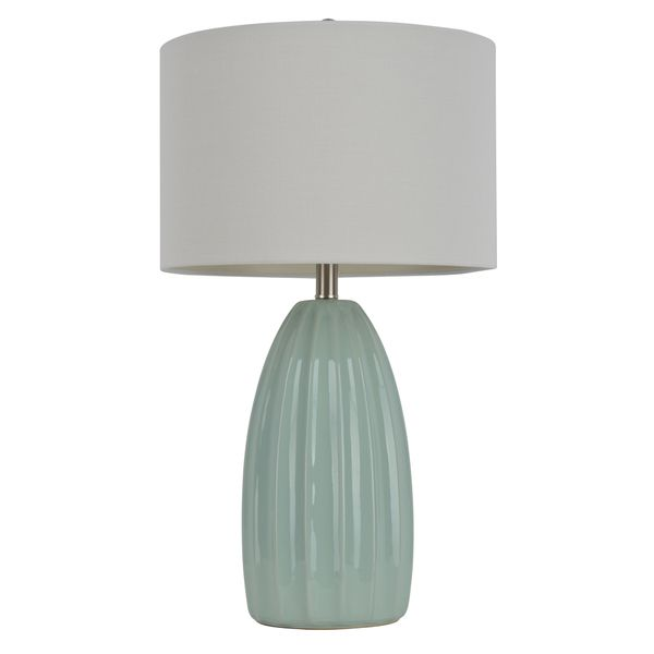 27inch blue crackle table lamp overstock shopping great deals on j hunt