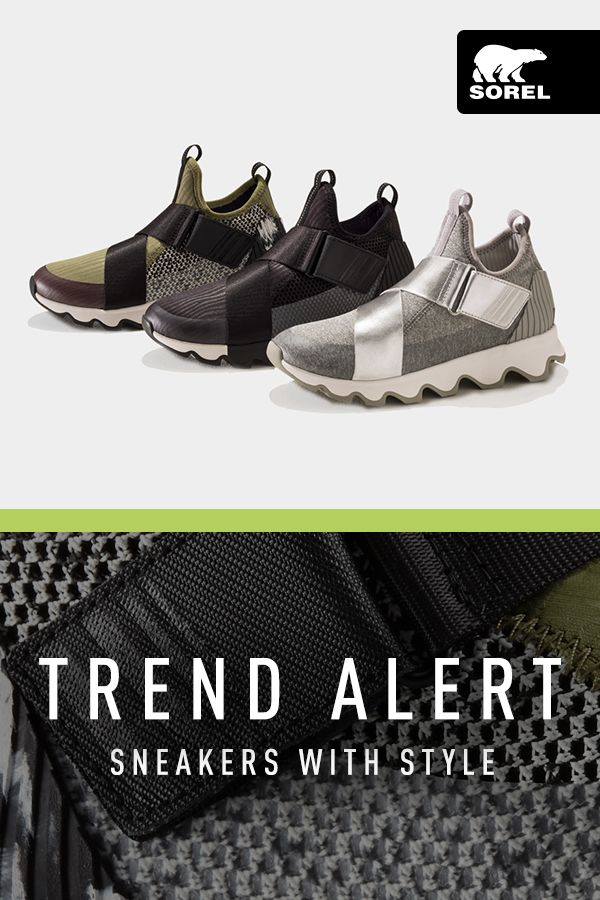 587fe91a8d082d Don t go for just any ol  sneaker that every other woman is putting on  the  Kinetic Sneak re-imagines sporty style with unique design and metallic …