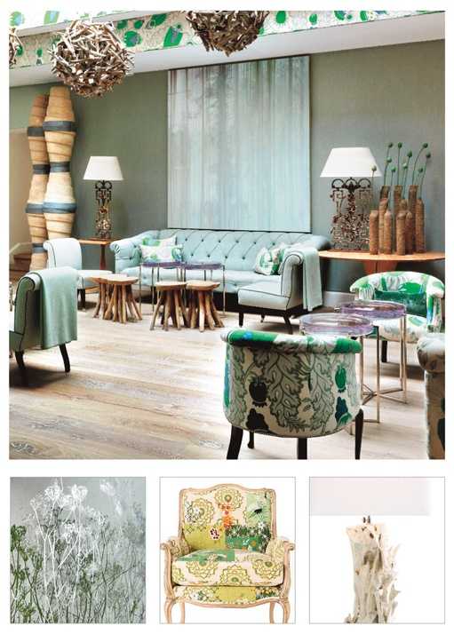 Style selections for London's Haymarket Hotel by Kit Kemp.