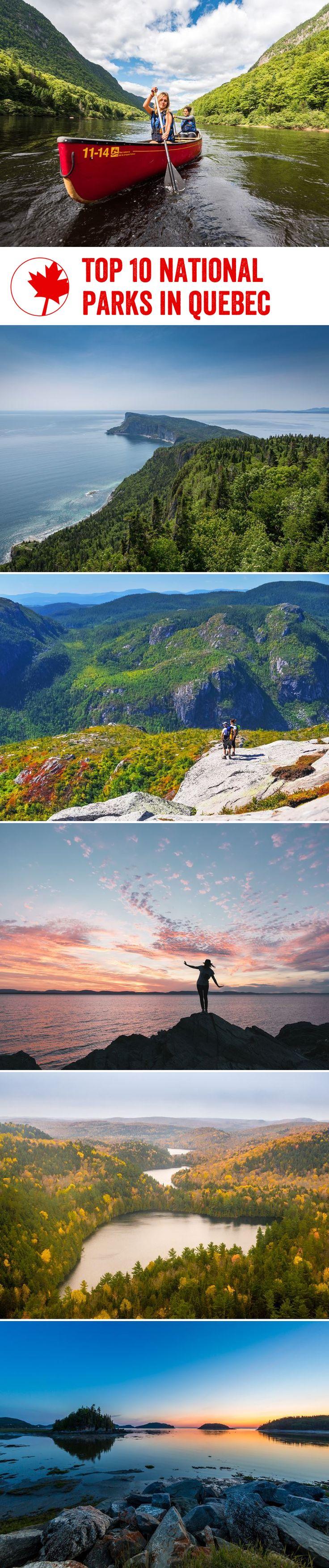 Top 10 national parks in #quebec