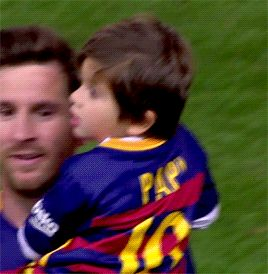 """""""Is this who Messi plays for?"""""""