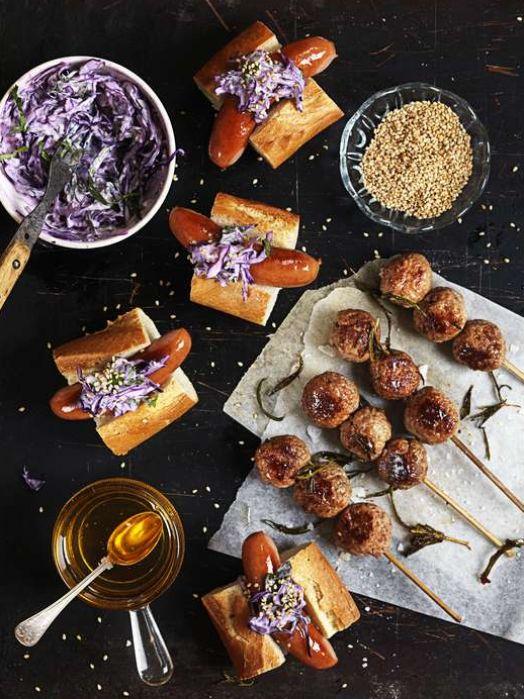 Prinskorv i baguette - Mitt Kök