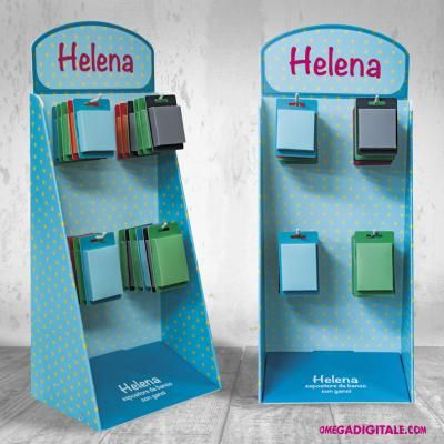 Helena distributore da banco per blister.