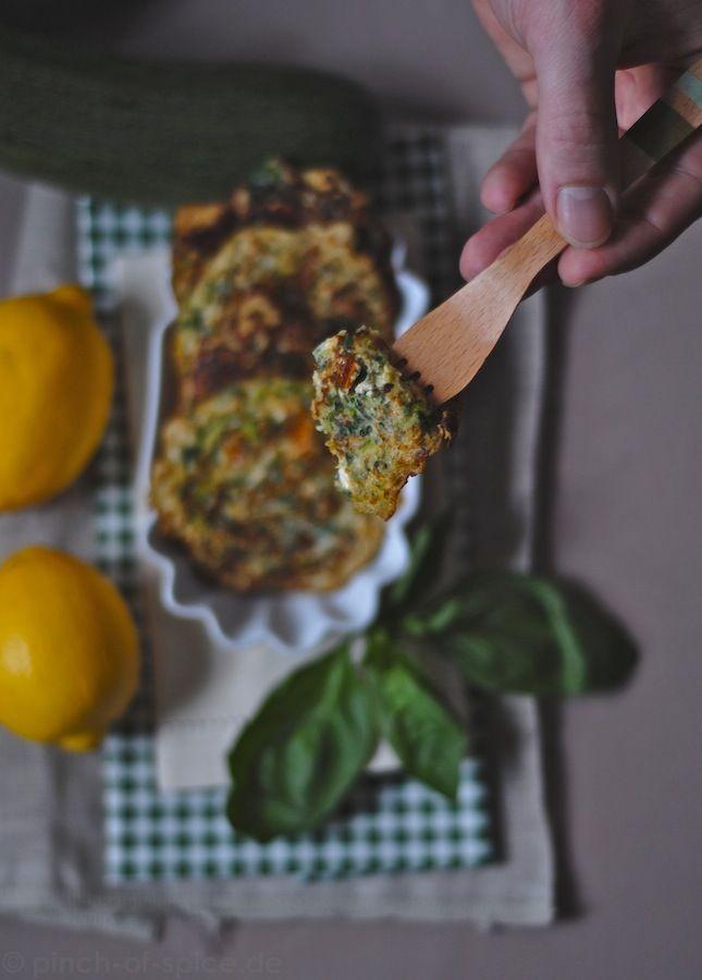 Zucchinipuffer von Anna Jones
