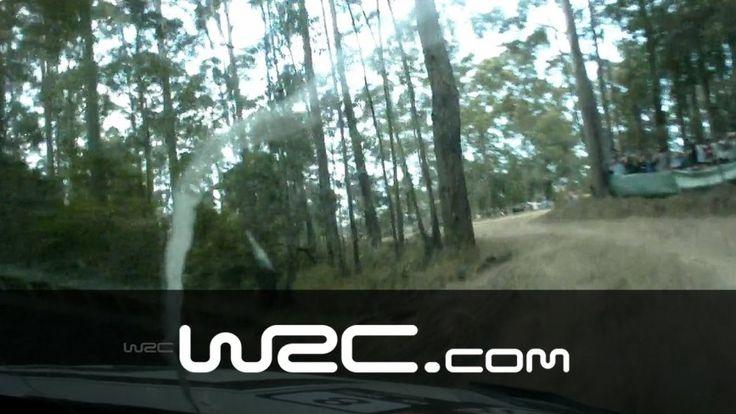 Sebastien Ogier und Co-Fahrer Julien Ingrassia haben die Stage SS05 der Coates Hire Rally in Australien gewonnen - hier die Onboard Ansicht des Laufs!