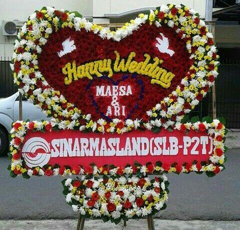 KARANGAN BUNGA PAPAN DI JAKARTA: KARANGAN BUNGA WEDING | BUNGA PAPAN