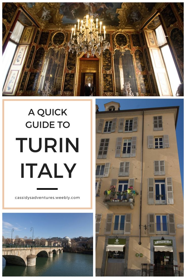 A Quick Guide to the beautiful Italian city of Turin, now on Cassidy's Adventures