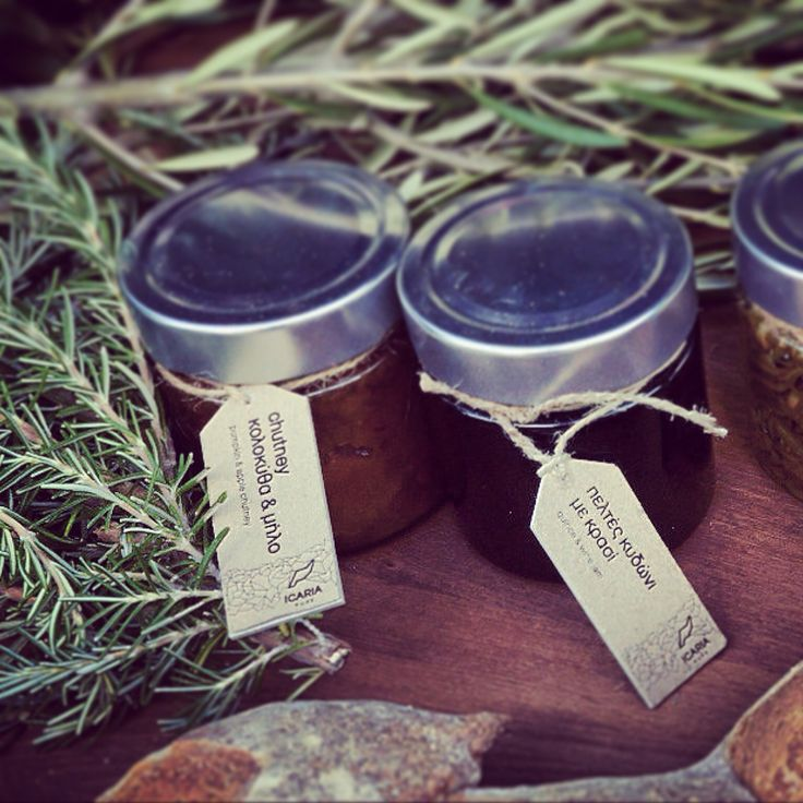 Butternut squash chutney & quince jelly by icaria pure