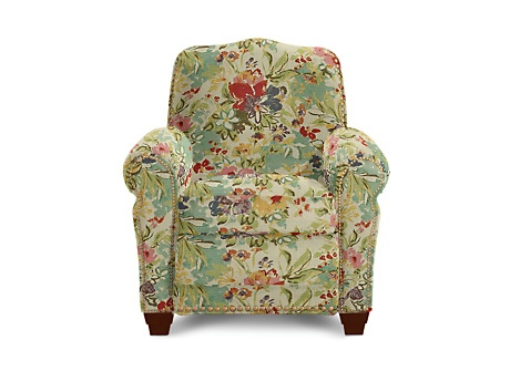 Lazy Boy Recliner Faris Model In Watercolor Fabric I