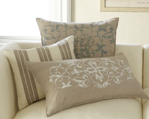 Maybe the switch to warmer tones isn't going to be so hard!  I really like these pillows!