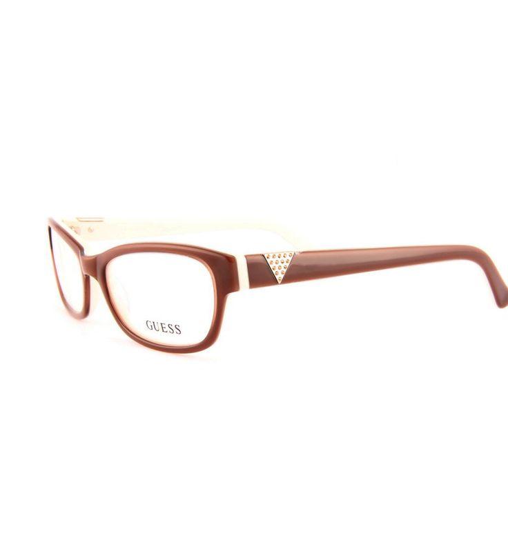 Dámské Brýle Guess GU2295 BRN #guess #eyewear #damske #bryle #optika #praha #damenbrille #designer #frames #eurooptik