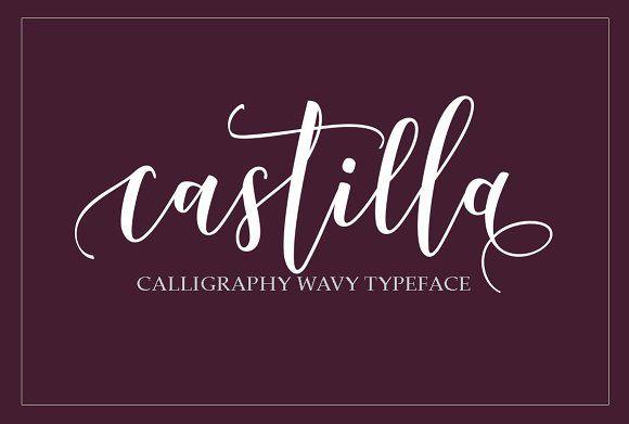 Castilla Script by joelmaker on @creativemarket