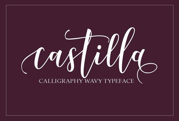 Castilla Script by joelmaker on @creativemarket