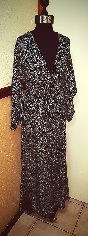 Kimono Maxi Dress by BetrendByAdele on Etsy