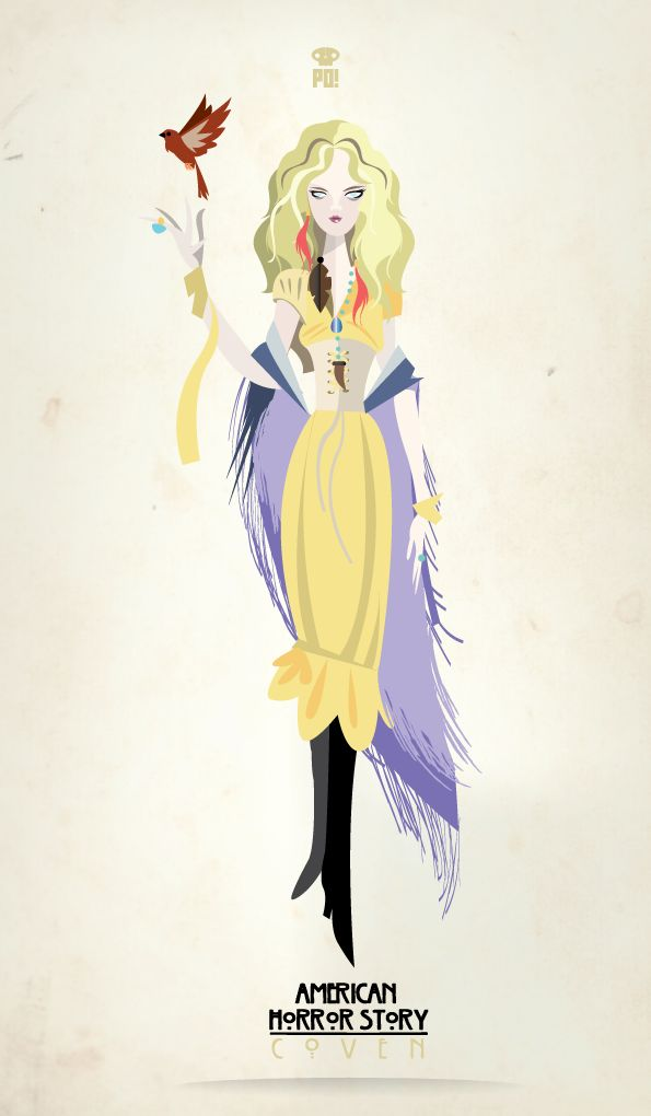 Misty Day  - ACH coven - So obsessed with this show right now - Image credit: Patricio Oliver