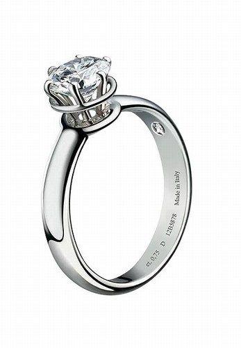 Anello di fidanzamento Damiani - Collezione 2011 - Fedi e anelli di fidanzamento, promesse d'amore eterno -