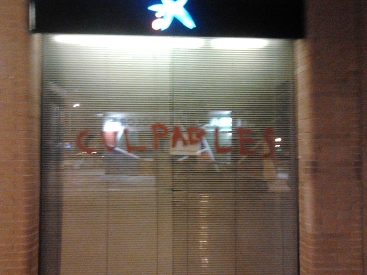 You Guilties! (Seen on La Caixa. Valencia, February 4th 2012)