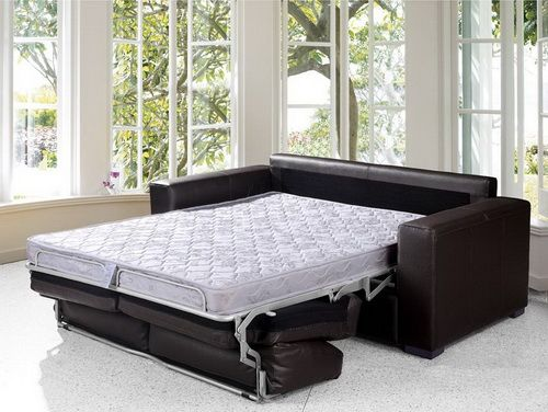 pull out leather sofa bed Pull Out Sofa Bed