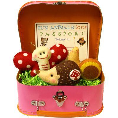 .Woodland Animal, Nurseries Decor, Gift Ideas, Cute Ideas, Felt Ideas, Gardens Grace, Suitcas, Easter Ideas, Felt Animal