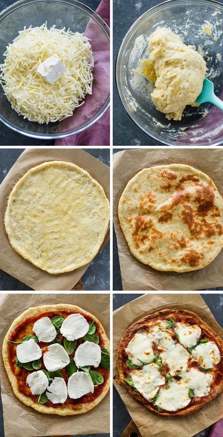 Pizza Keto 20 minutes | Gimme Delicious