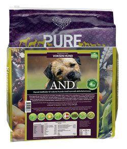 1 x 4 kg Pure AND til SMÅ racer er kornfri, glutenfri og allergivenlig hundemad + GRATIS GODBIDDER
