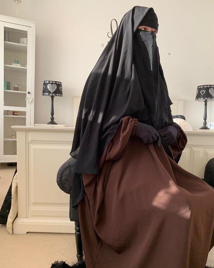 ب س م الله الرحمن الرحيم The Beautiful Hiddenukht In Our Earth Brown Jilbab And In Our Xl Niqab Cape Earth Brown Jilbab Is Available
