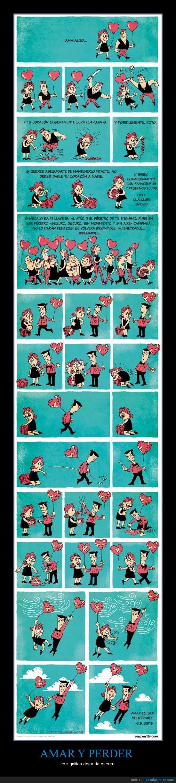 AMAR Y PERDER - no significa dejar de querer