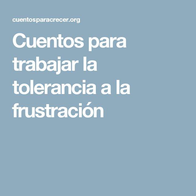 Tolerància a la frustració