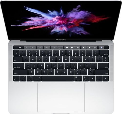 """Apple – MacBook Pro – 13″"""" Display with Touch Bar – Intel Core i5 – 8GB Memory – 128GB SSD (Latest Model) – Silver"""