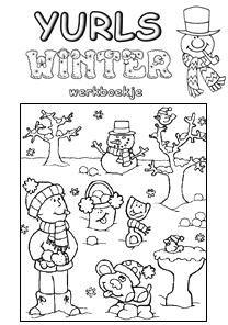 Yurls Werkboekjes winter groep 3/4