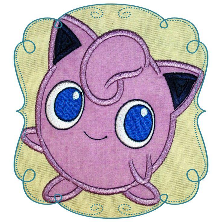 Pokemon Applique Designs