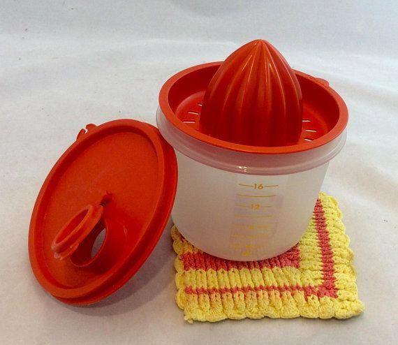 Tupperware Juicer Orange | Etsy
