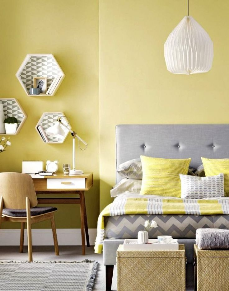 Teal gray yellow bedroom : Teal and yellow bedroom images cheery