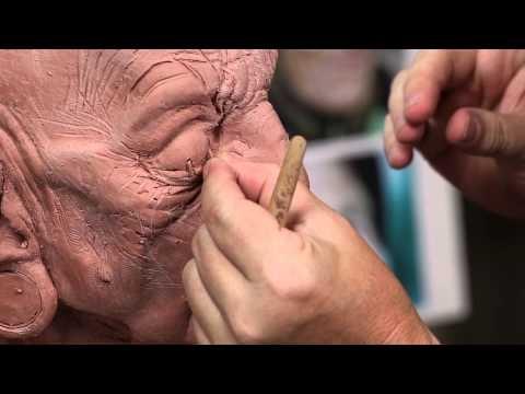 Makeup Effects Tutorial - Fantasy Character Makeup Sculpting with Bruce Spaulding Fuller