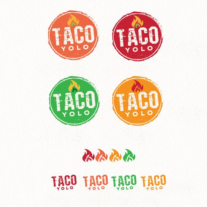 Design an Edgy, Exciting Tex Mex TACO YOLO Restaurant Logo by -NLDesign-