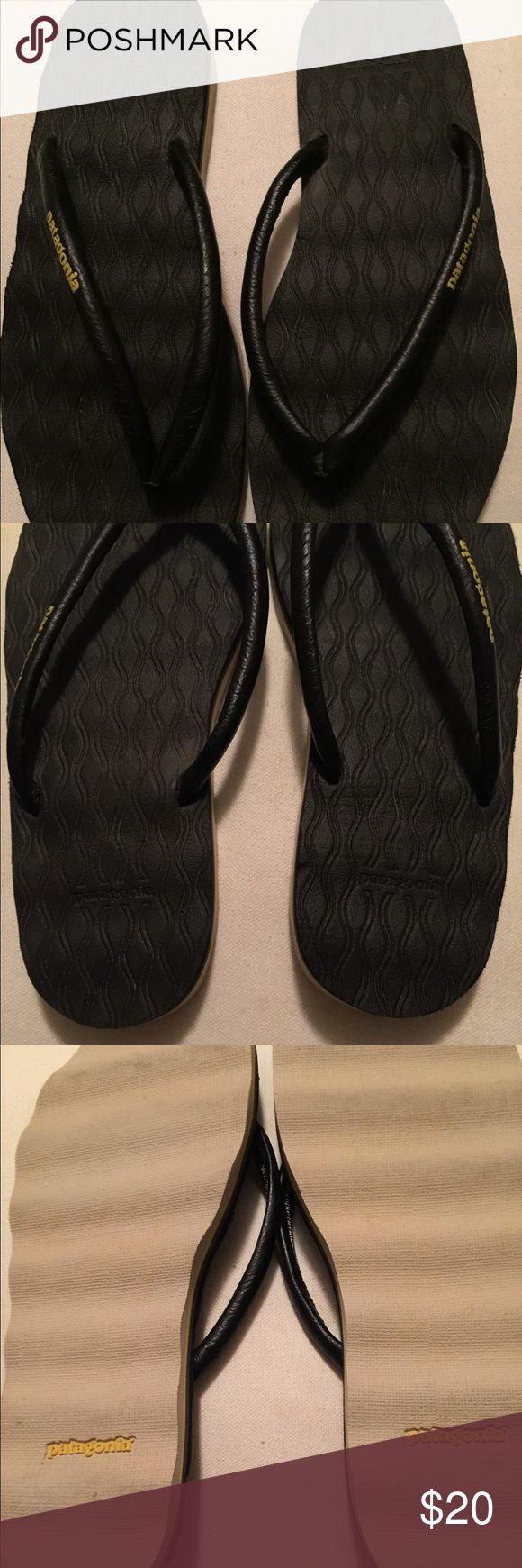 Black Patagonia Sandal Black Patagonia Thong Sandal .  Size 7 Patagonia Shoes
