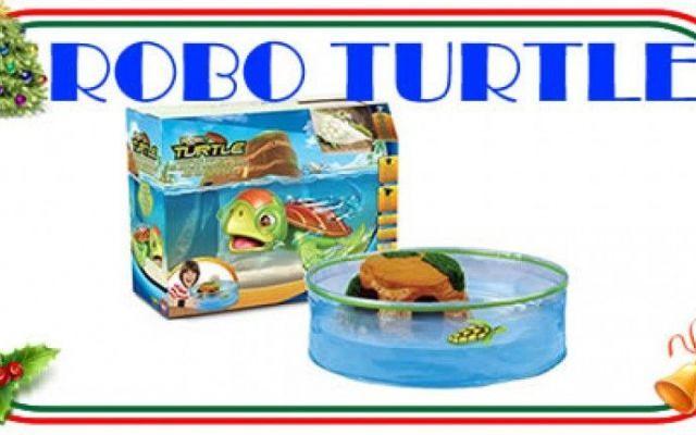 Robo Turtle, la tartaruga che si muove e nuota da sola Se sei alla ricerca di un regalo per bambini divertente e colorato, la Robo Turtle farà certamente al caso tuo: la simpatica tartarughina riproduce in modo molto veritiero quelle vere e sarà diverten #giochi #giocattoli #tartaruga