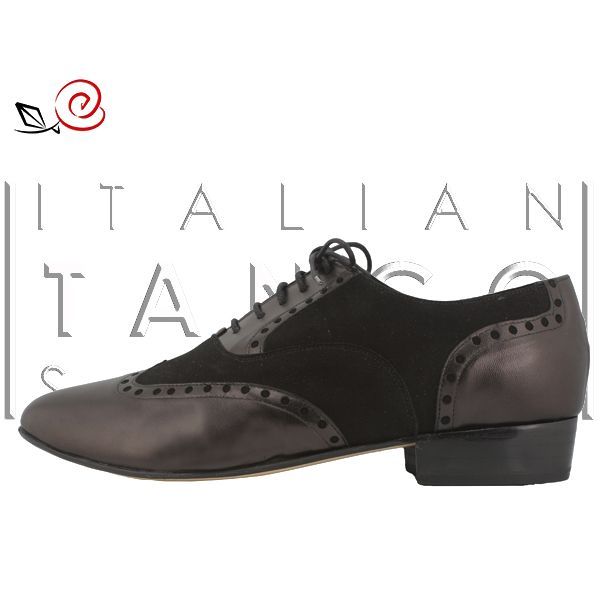 Tango shoes for men in black suede and nappa leather http://www.italiantangoshoes.com/shop/en/men/298-gabriel.html