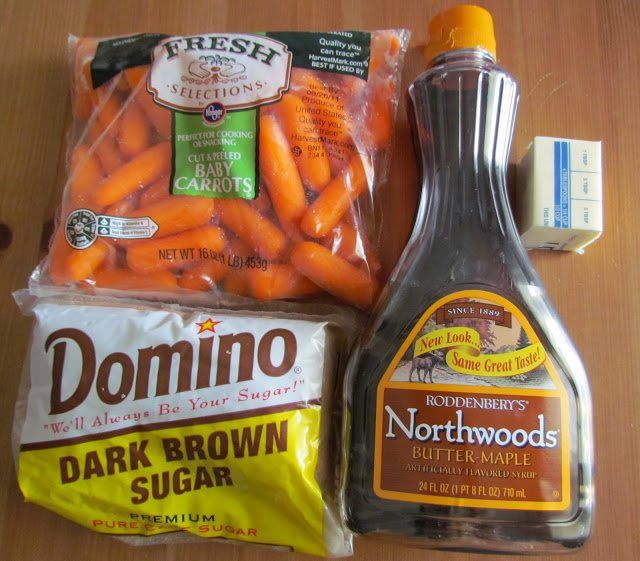 Maple Glazed Carrots recipe only has 4 ingredients and it comes together quickly. Butter, brown sugar & maple syrup make the most amazing glaze for carrots!