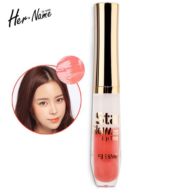 Ее имя блеск для губ губы оттенок полные губы помада для губ глянцевый Аква красоты макияж 8 цветов косметика блеск женщины девушки