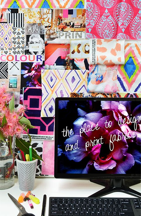 mood board in our studio... it's so obvious that we love colour #colour #print #design #moodboard #inspiration