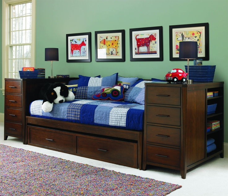 Kendall Daybed With Storage Drawers Bedroom Woodworking