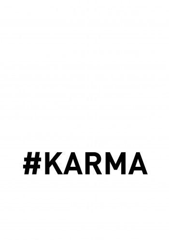 #Karma - white
