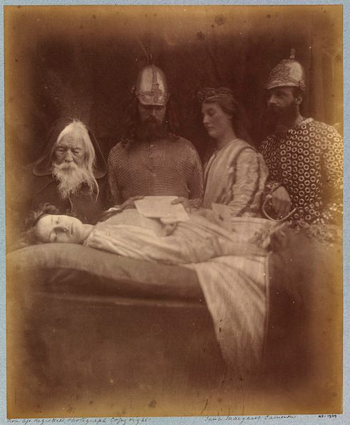 Very old post mortem photography