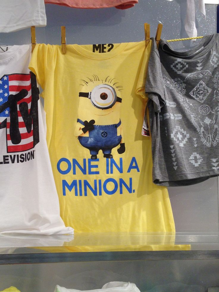 Fun Despicable Me Tee