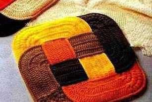 Оригинальные вязаные коврики | Уют и тепло моего дома