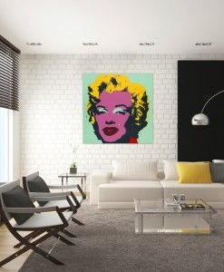 Warhol Munro Canvas Print