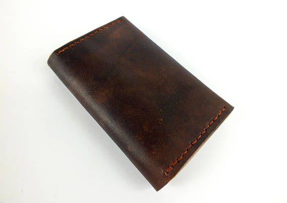 Mens Leather wallet, Mens Wallet, Leather Wallet, Minimal Leather Wallet, thin leather wallet, mens wallet
