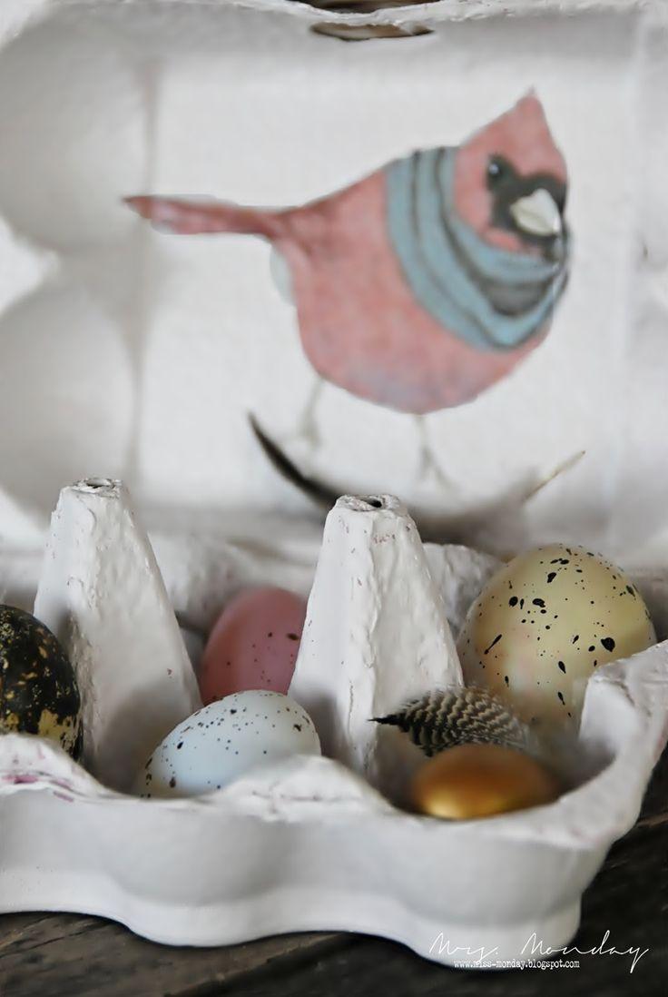 DIY Easter Mood Display / Home Decor