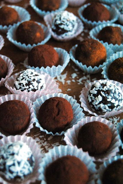 Healthy Cacao Truffles {5 different flavours} /Terveen Hyvää